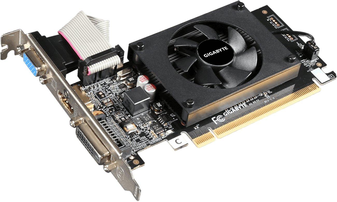 GeForce GT 710 chłodzenie