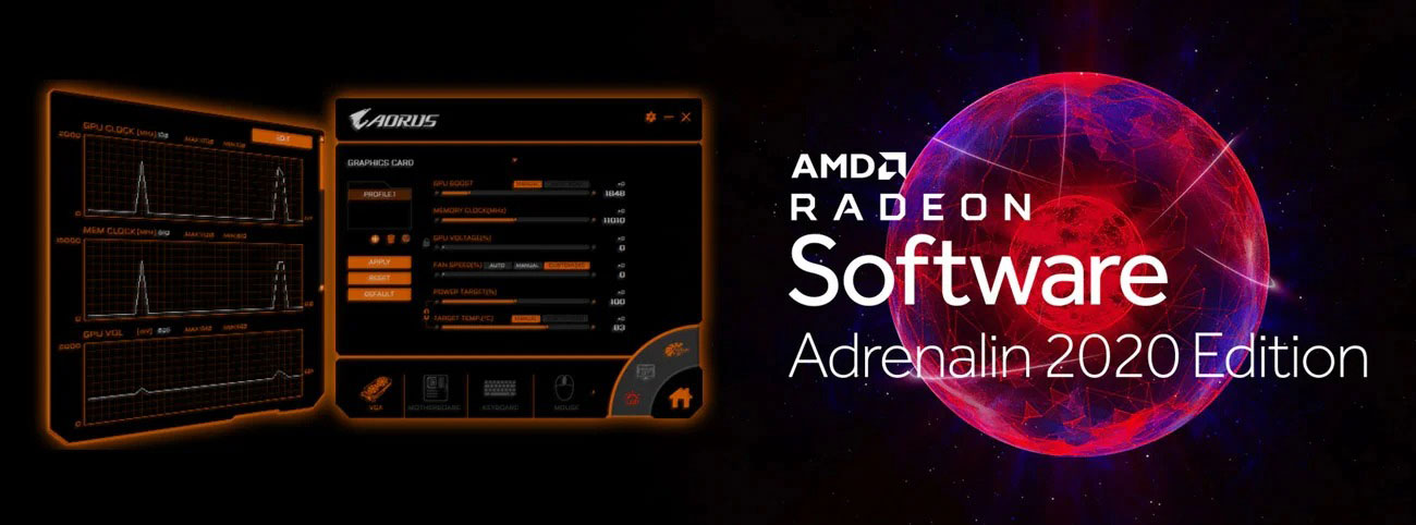 Adrenalin 2020 Edition i Aorus Engine