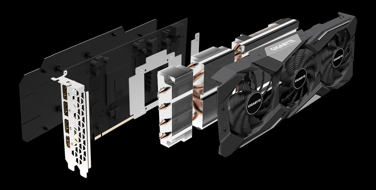 Gigabyte Radeon RX 5600 XT GAMING OC - Chłodzenie