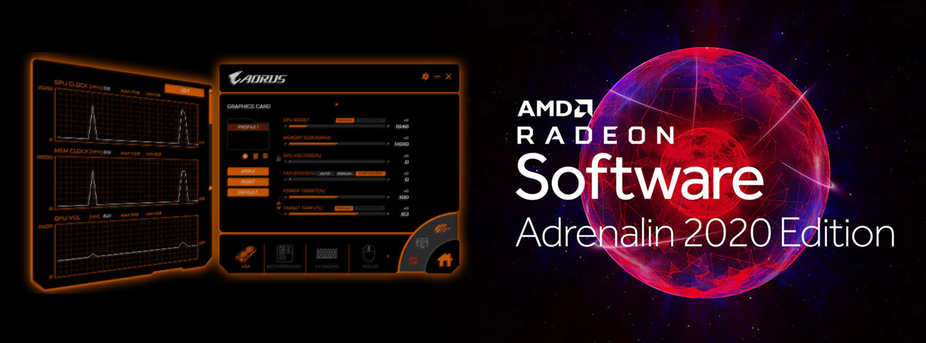 Adrenalin 2020 Edition i Aorus Engine