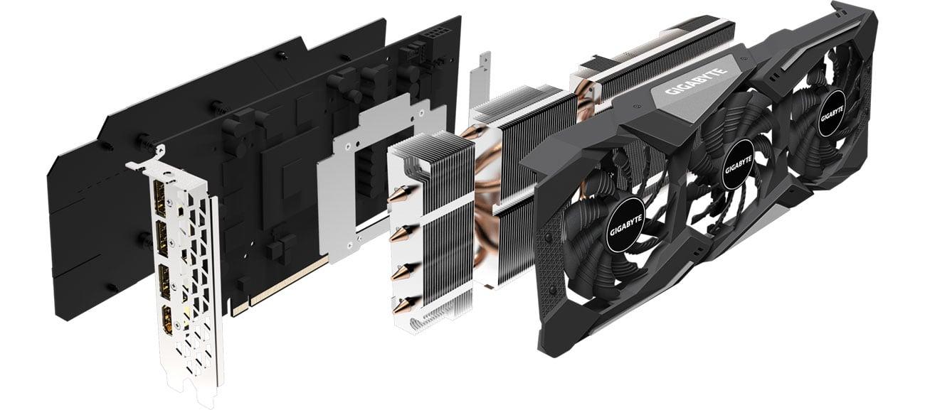 Gigabyte Radeon RX 5700 Gaming OC - Chłodzenie
