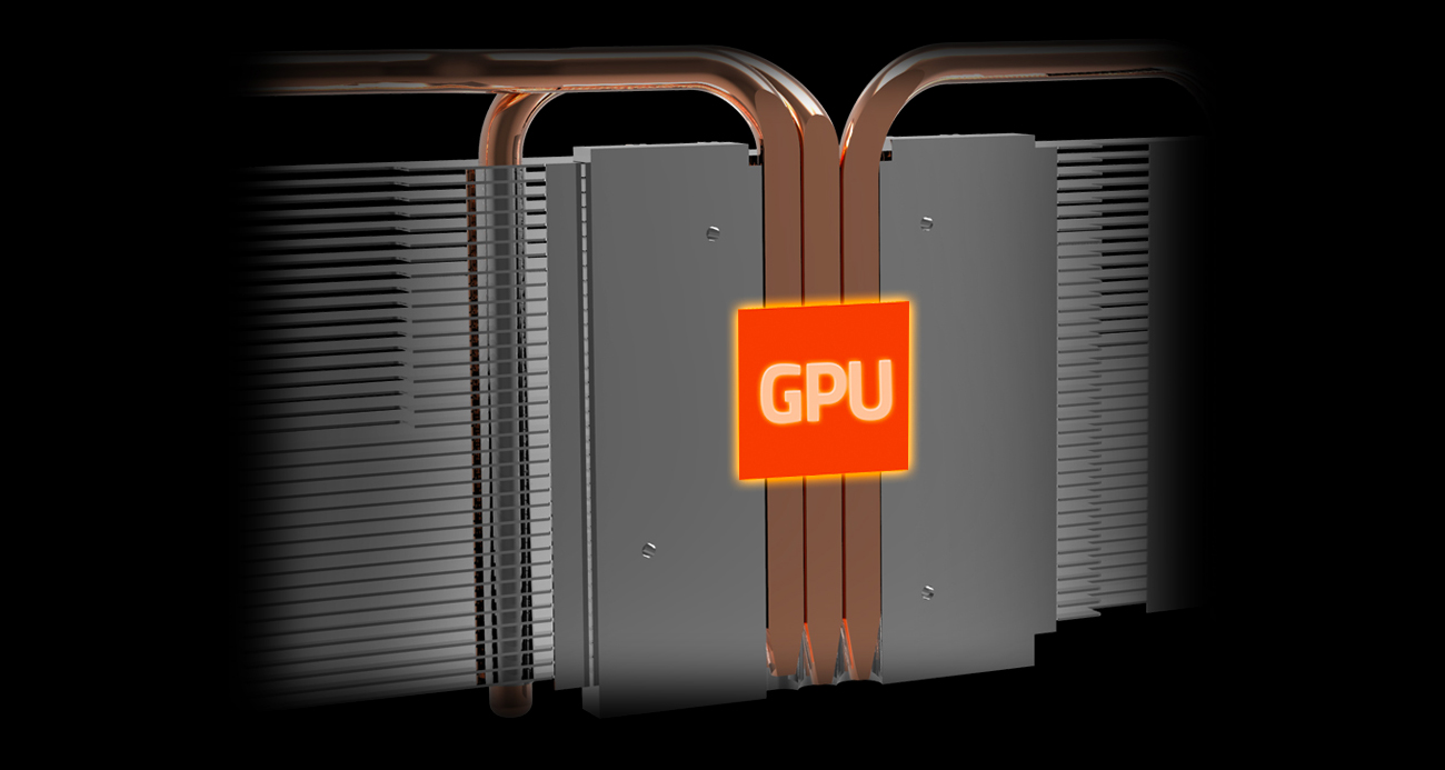 Gigabyte Radeon RX 570 GAMING 4GB GDDR5 ciepłowody
