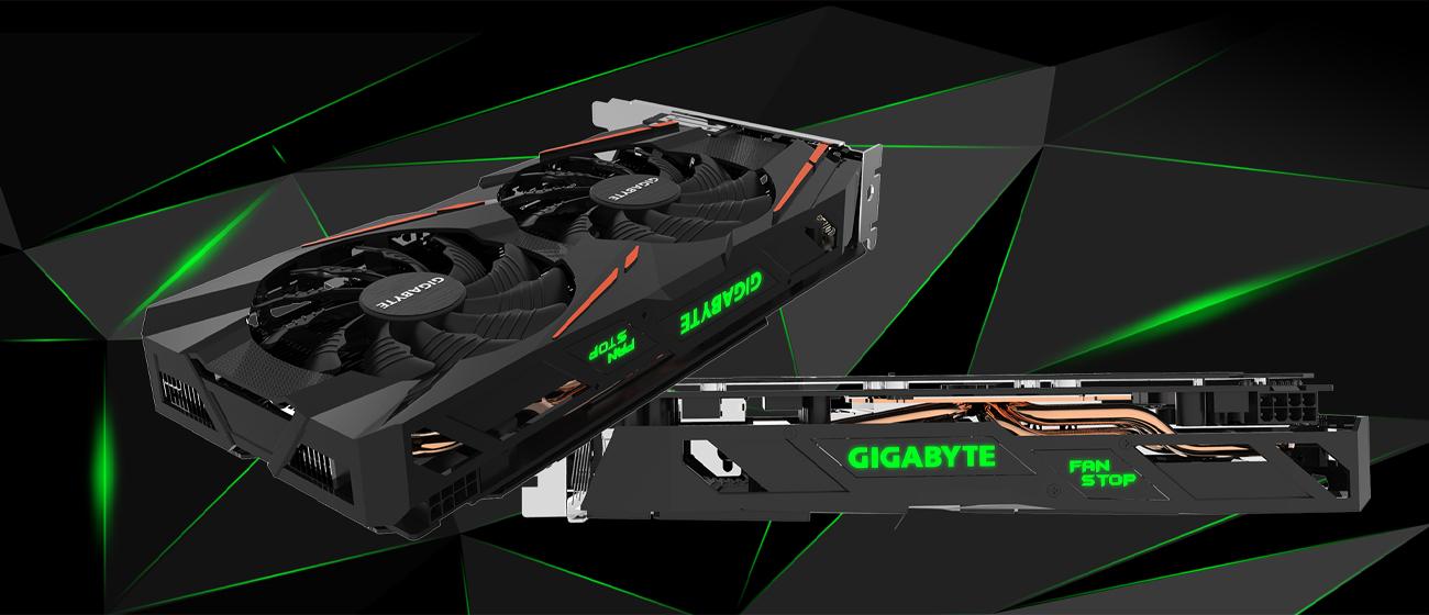 Gigabyte Radeon RX 570 GAMING 4GB GDDR5 podświetlenie LED