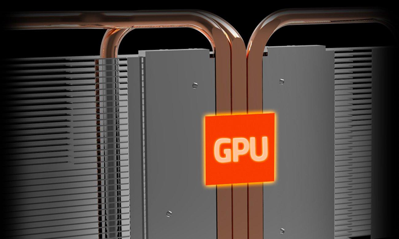 Gigabyte Radeon RX 580 GAMING Ciepłowody