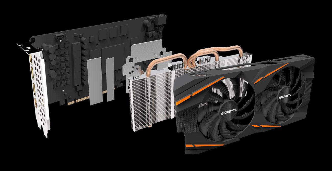 Gigabyte Radeon RX 580 GAMING 8GB rev 2.0