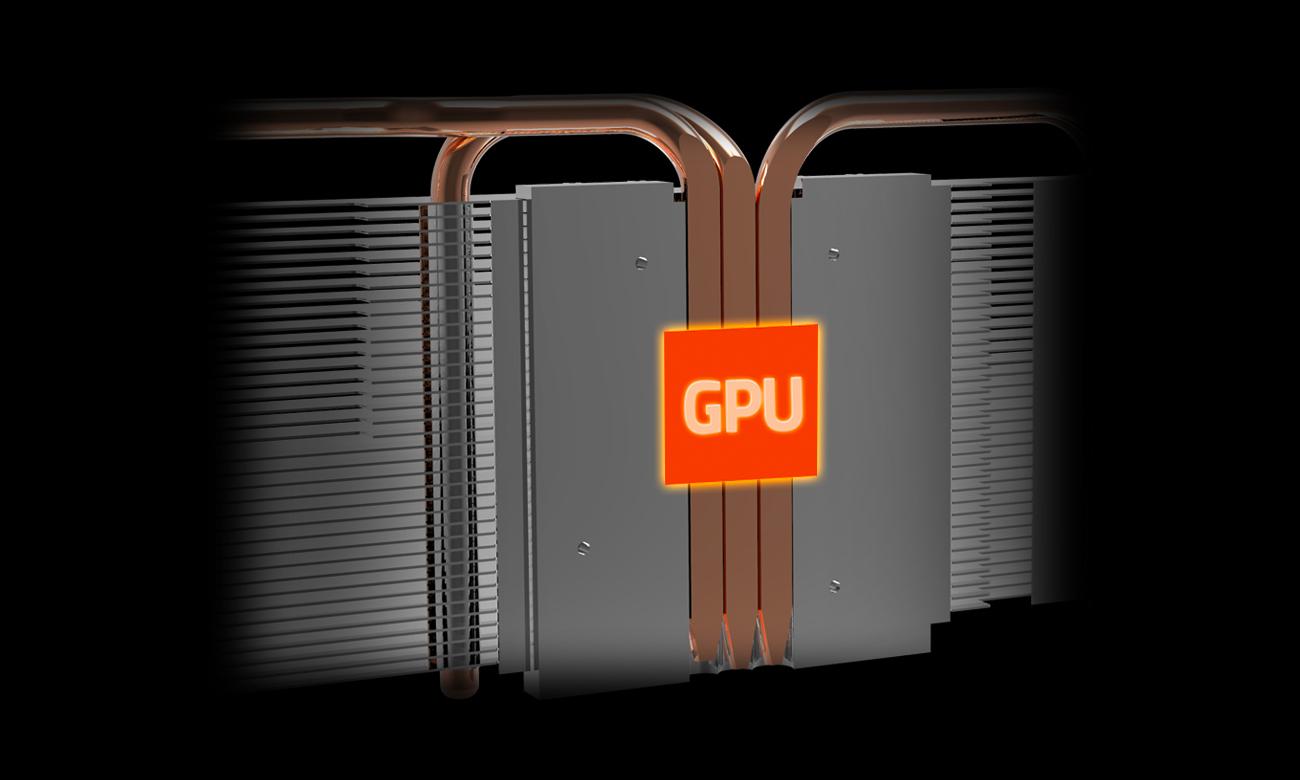 Gigabyte Radeon RX 580 GAMING 8GB GDDR5 ciepłowody