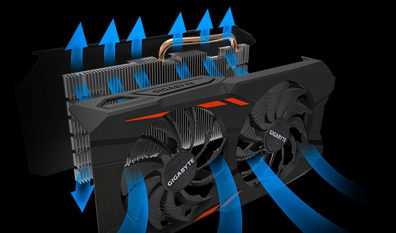 Windforce 2X Cooling System