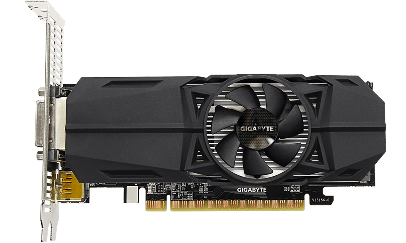 Gigabyte GeForce GTX 1050Ti OC LP