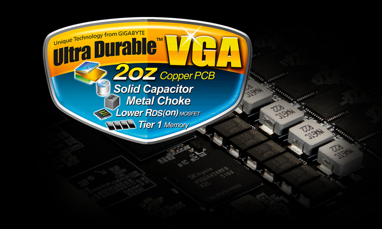 Ultra durable VGA