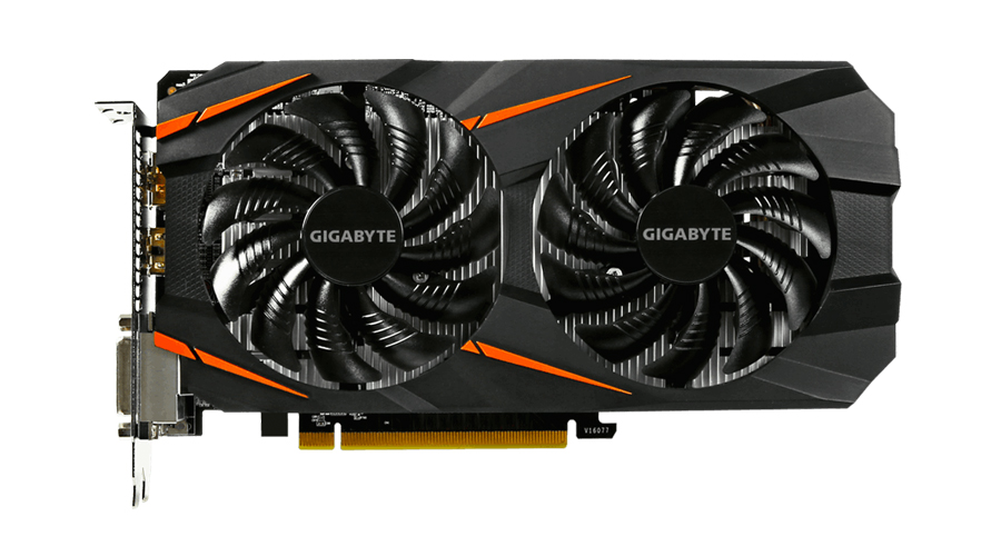 Gigabyte GeForce GTX 1060 WindForce II OC