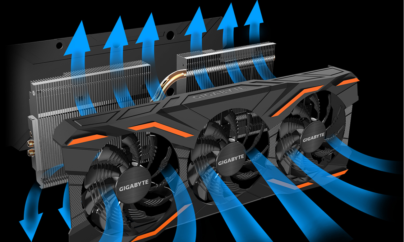 Gigabyte GeForce GTX 1080 WindForce III OC 8GB GDDR5X - Karty
