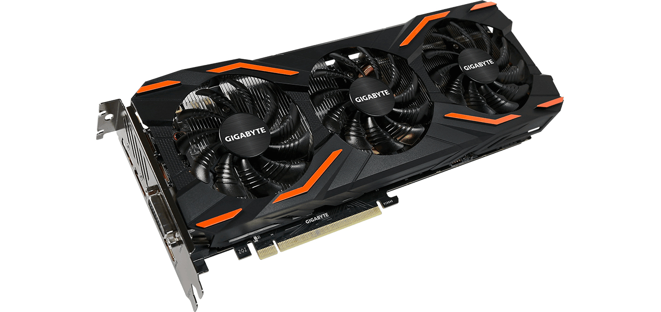 Gigabyte GeForce GTX 1080 Windforce III - VR ready