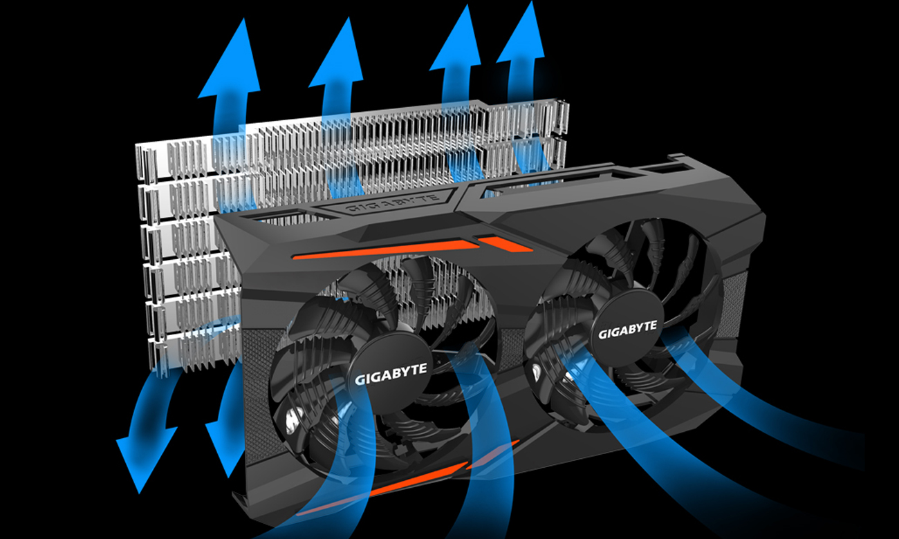 Windforce 2X Cooling System