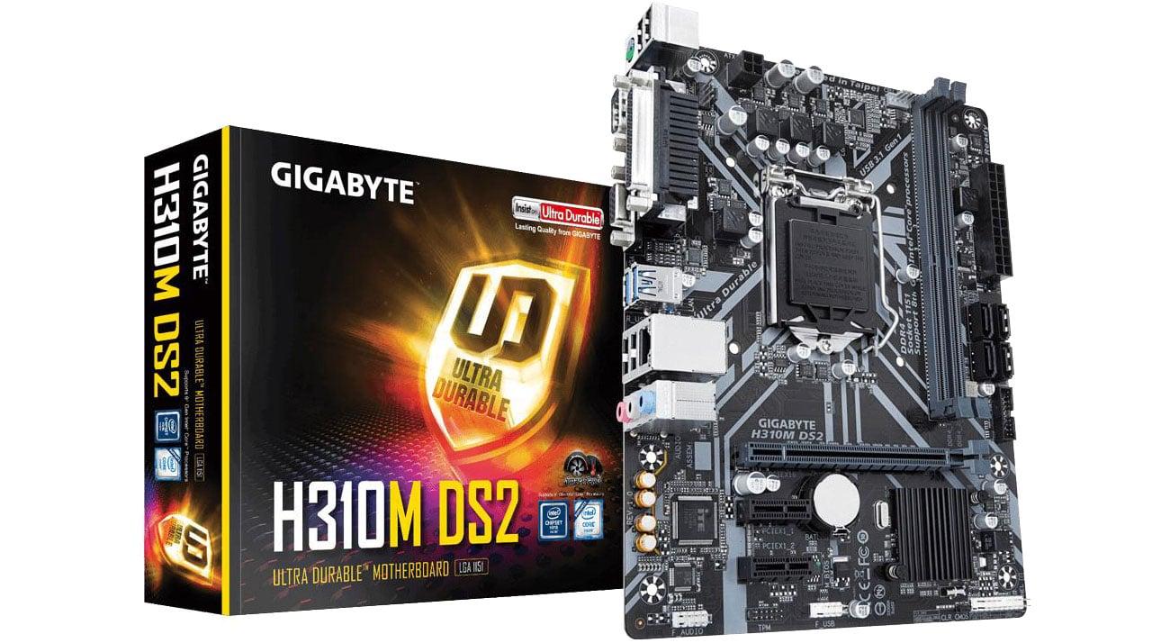 Płyta główna Socket 1151 Gigabyte H310M DS2