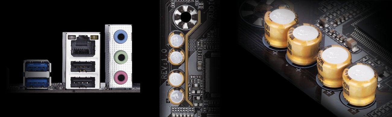 Gigabyte H310M DS2 Kodek Realtek ALC887