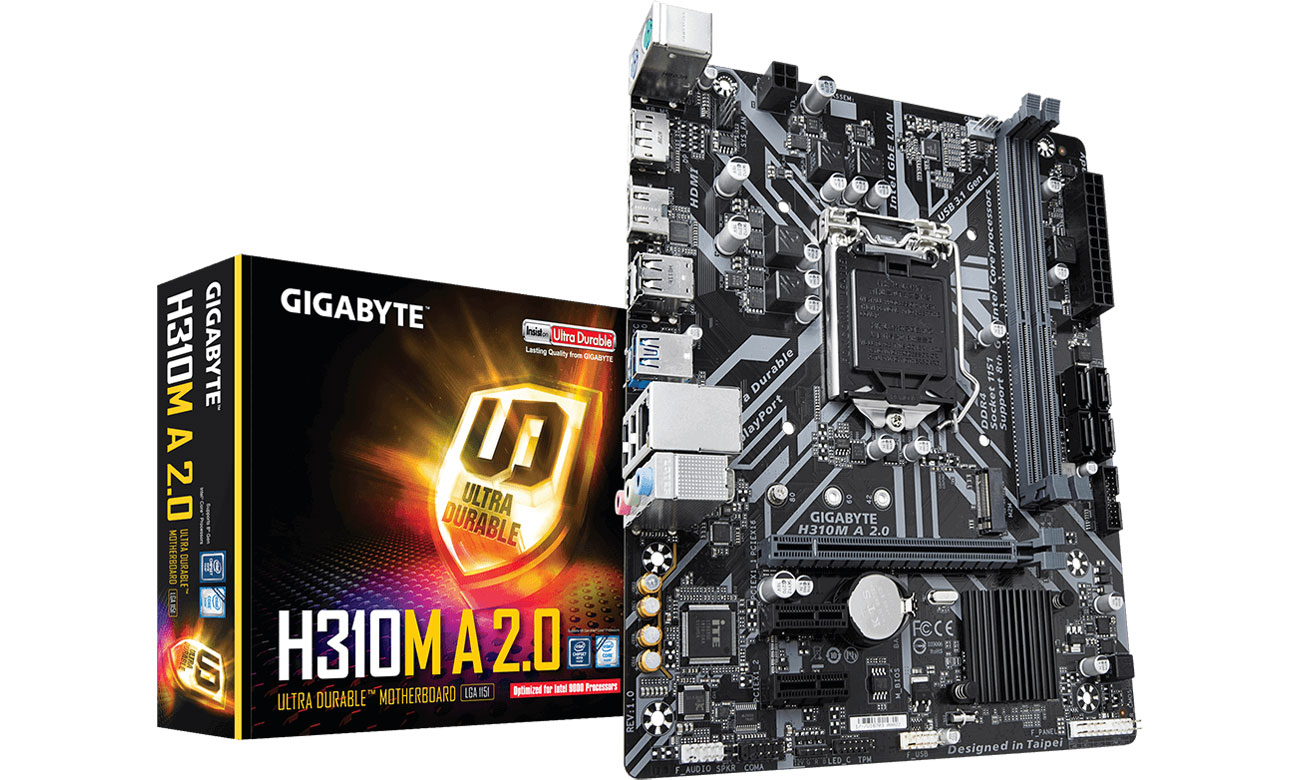 Płyta główna Socket 1151 Gigabyte H310M A 2.0