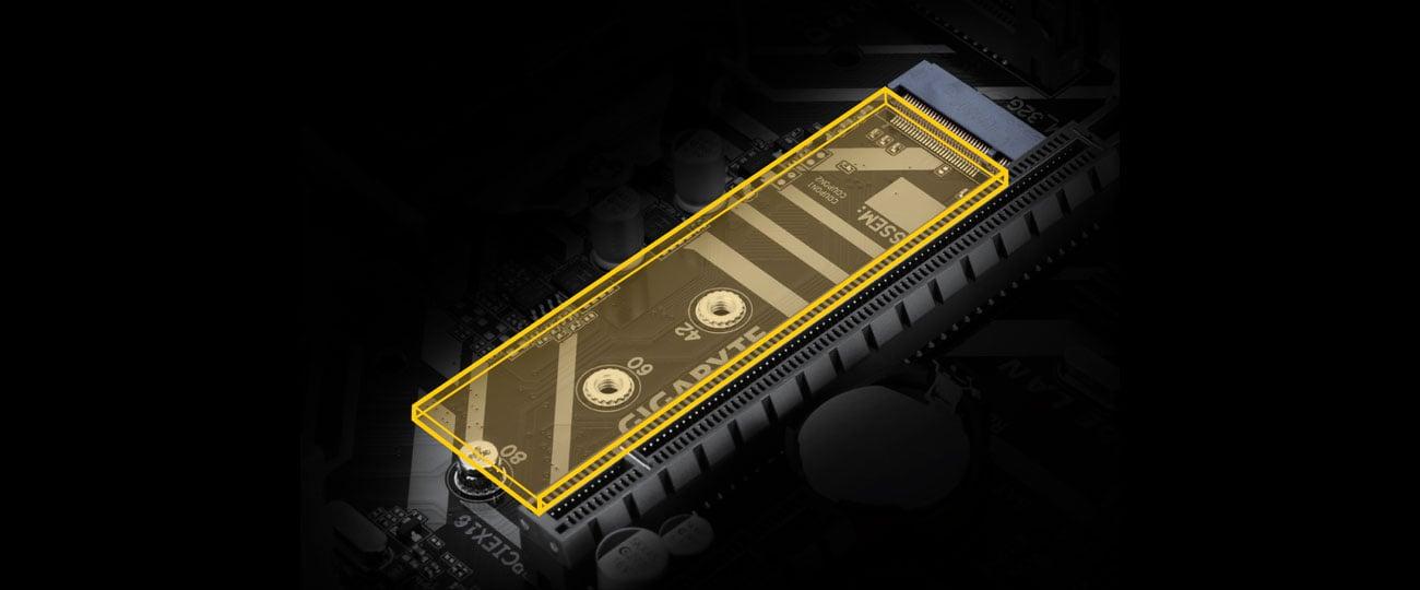 Gigabyte H310M A 2.0 - Złącze M.2
