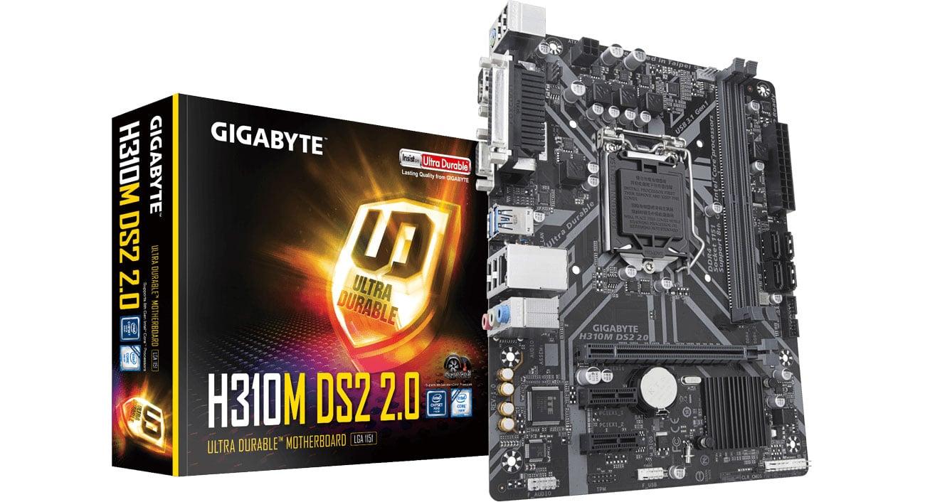 Płyta główna Socket 1151 Gigabyte H310M DS2 2.0