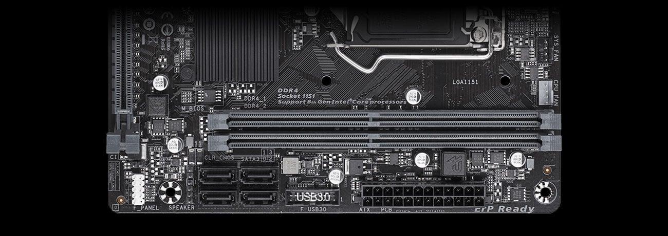 Gigabyte H310M S2V 2.0 Złącza