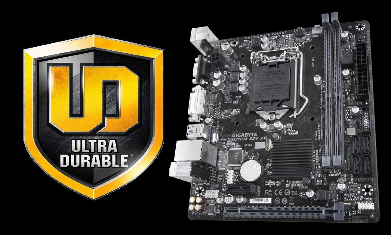 Gigabyte H310M S2V 2.0 Ultra Durable
