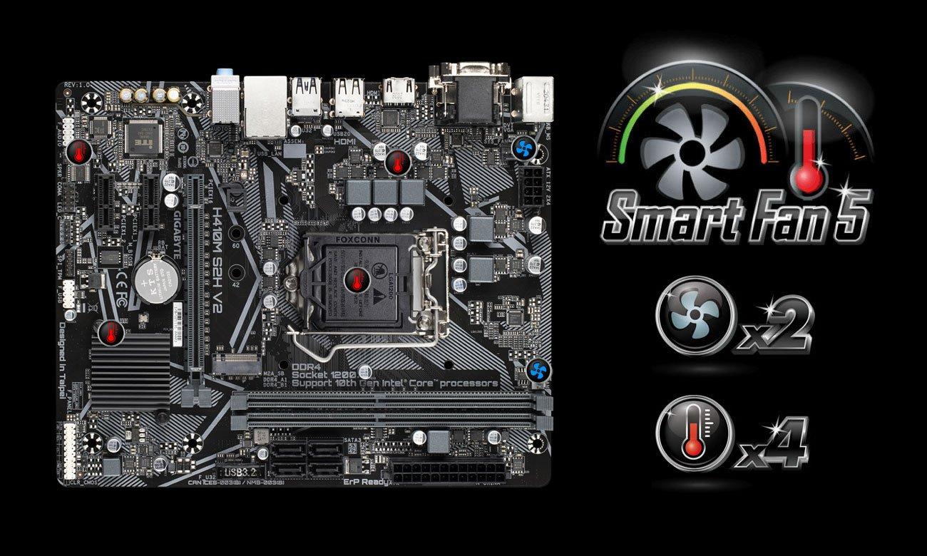 Gigabyte H410M S2H V2 - Smart Fan 5