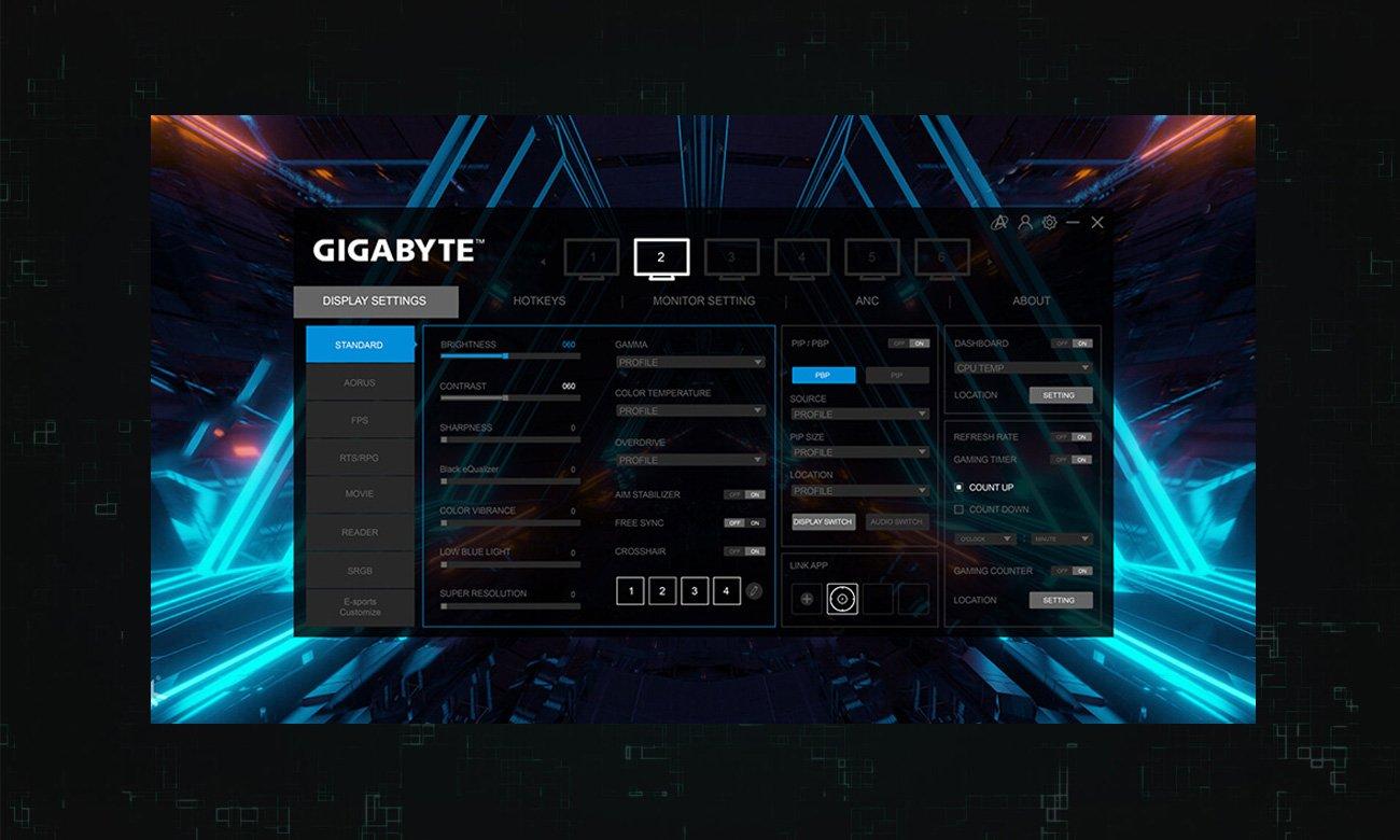 Monitor dla graczy Gigabyte M27Q