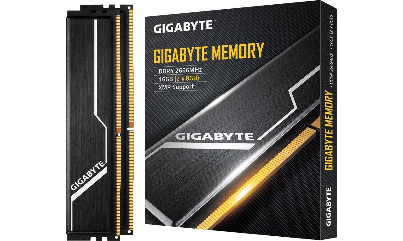 Pamięć RAM DDR4 Gigabyte 16GB (2x8GB) 2666MHz CL16 Black GP-GR26C16S8K2HU416