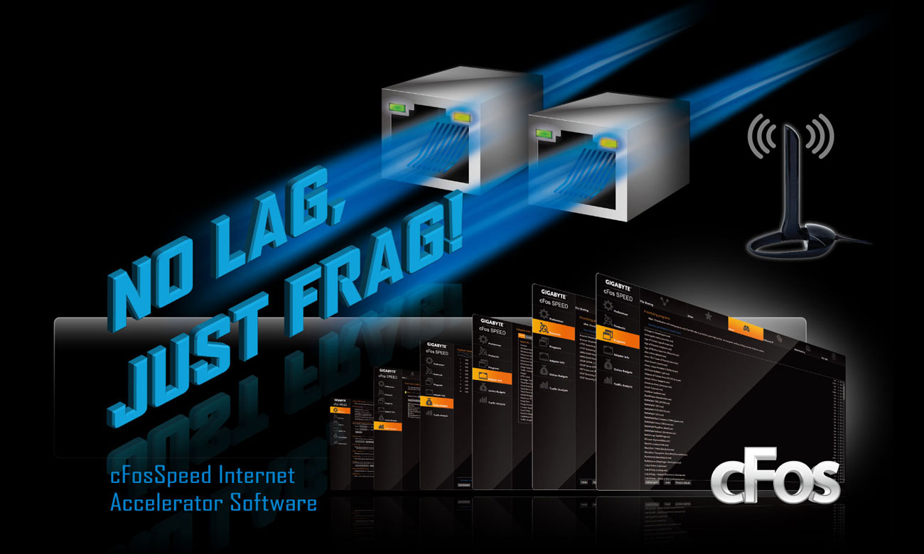 Gigabyte X299 DESIGNARE EX Sieć LAN i WiFi