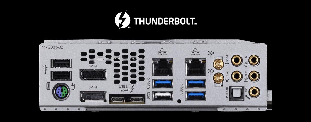 Gigabyte X299 DESIGNARE EX USB z Thunderbolt 3