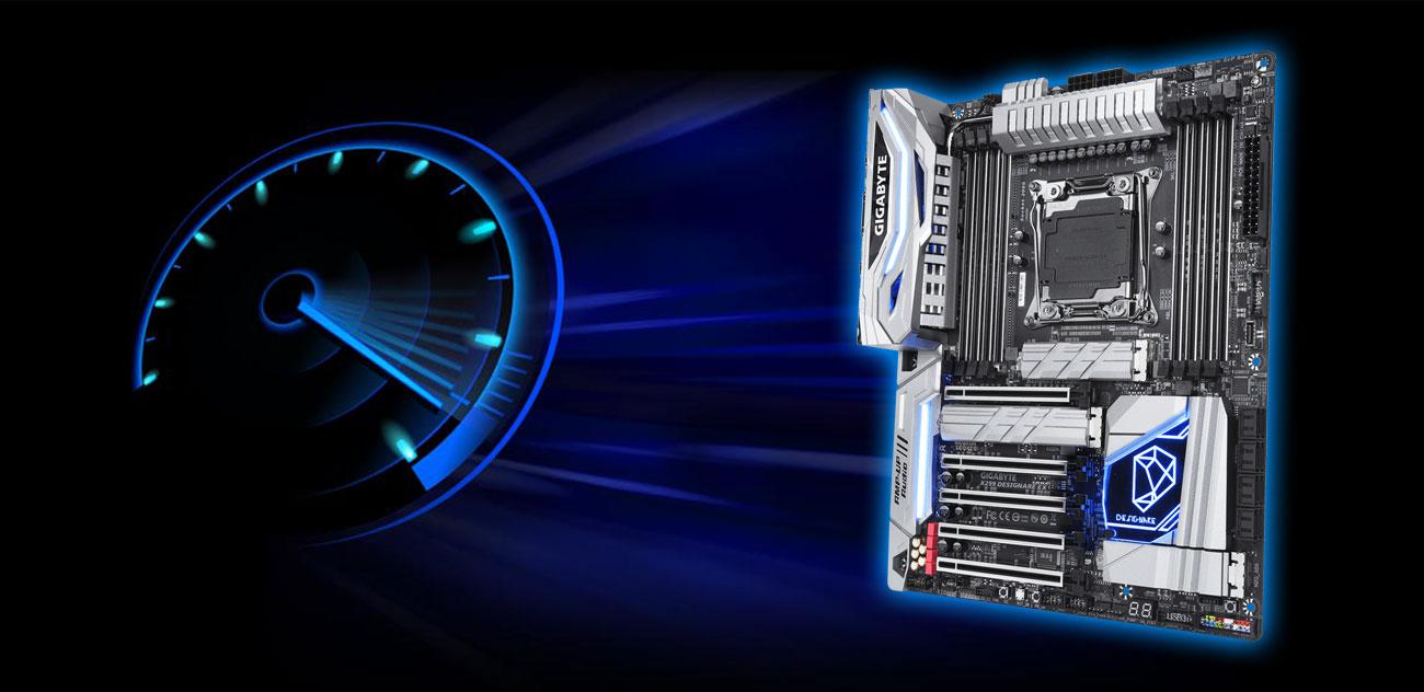 Gigabyte X299 DESIGNARE EX Wydajność