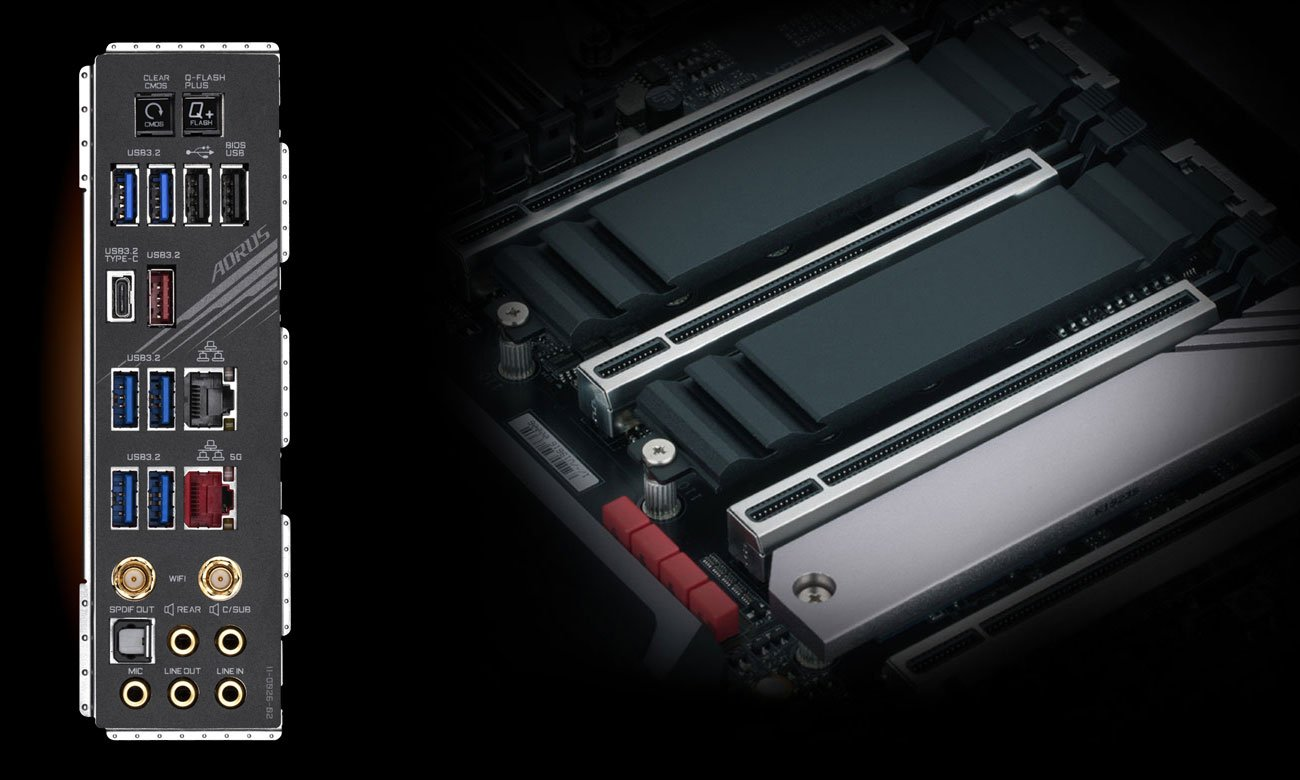 Gigabyte X299X AORUS MASTER - USB, M.2