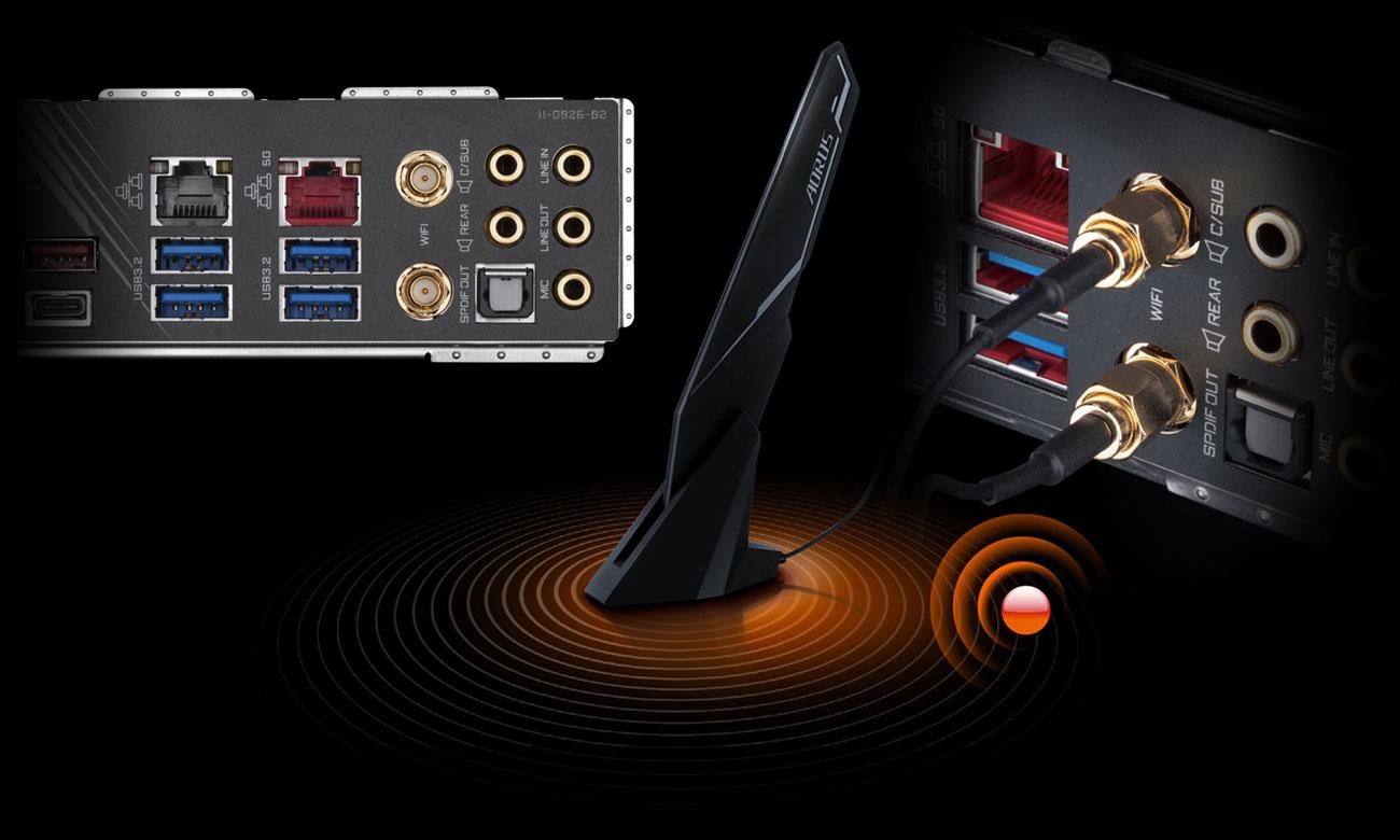 Gigabyte X299X AORUS MASTER - LAN, Wi-Fi