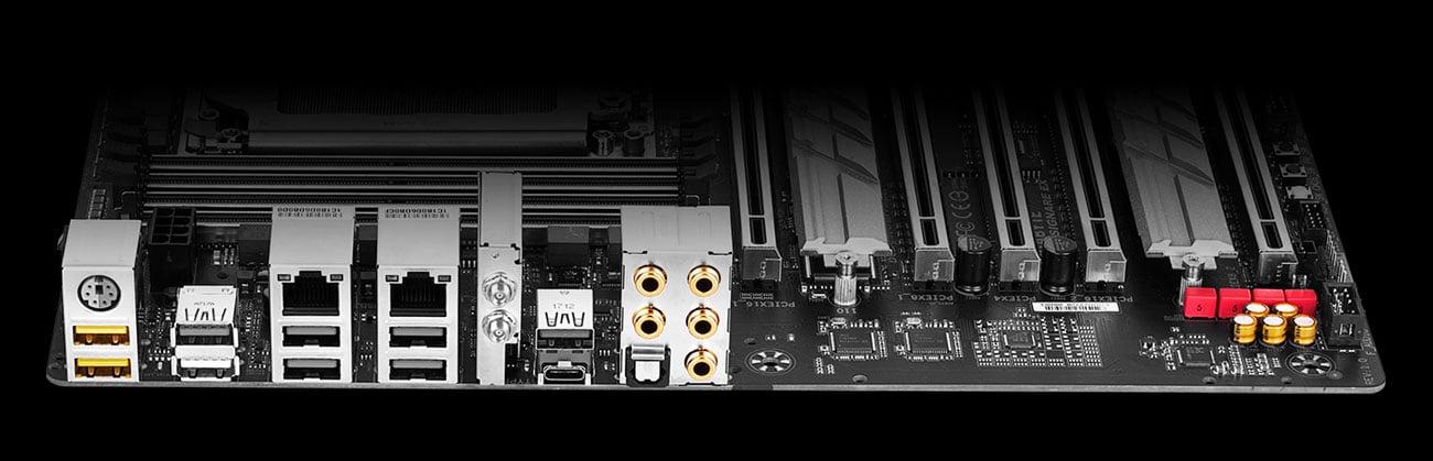Gigabyte X399 DESIGNARE EX Audio