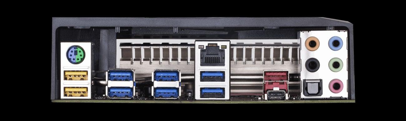 Gigabyte X399 AORUS PRO Złącza USB