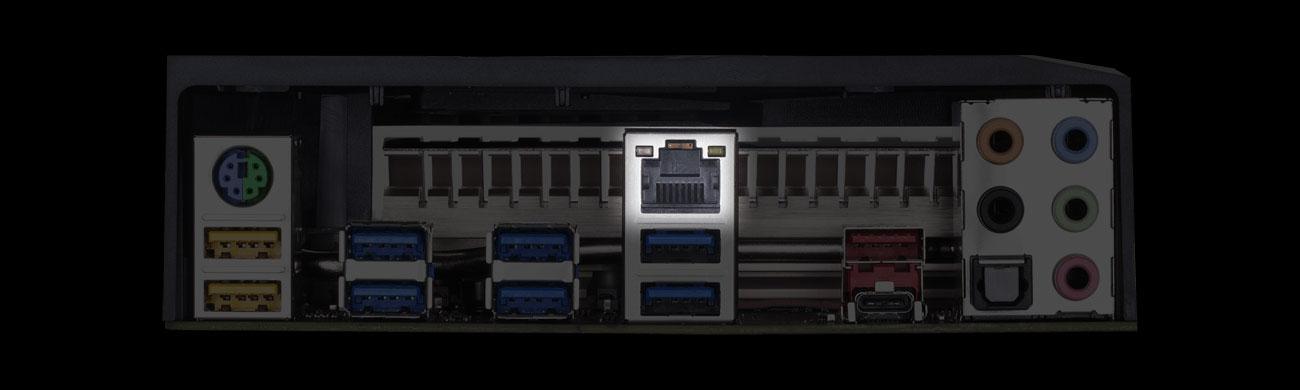 Gigabyte X399 AORUS PRO Złącze LAN