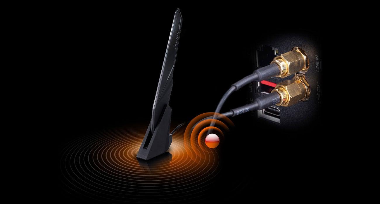 Gigabyte X570 I AORUS PRO WIFI - Łączność bezprzewodowa