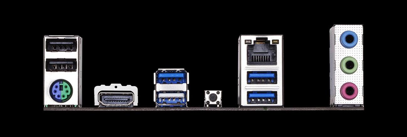 Gigabyte X570 UD - Złącza
