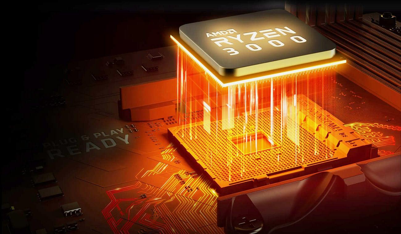 chipset x570 pod procesory amd ryzen 3000 am4