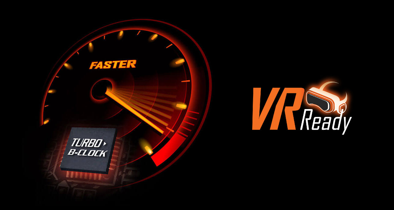 Gigabyte Z370 Aorus Gaming 7-OP Turbo B-Clock VR Ready
