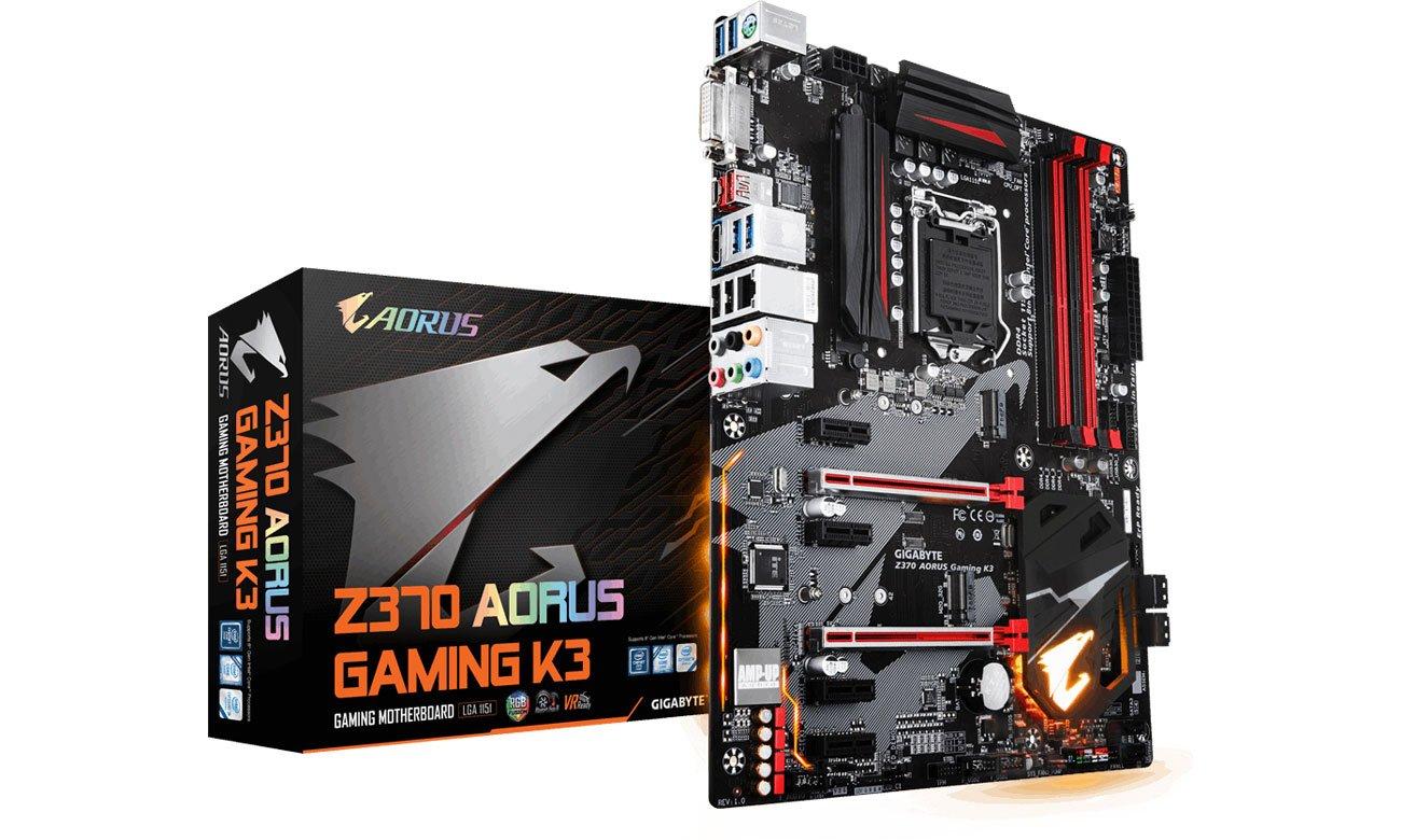 Płyta główna Socket 1151 Gigabyte Z370 AORUS Gaming K3