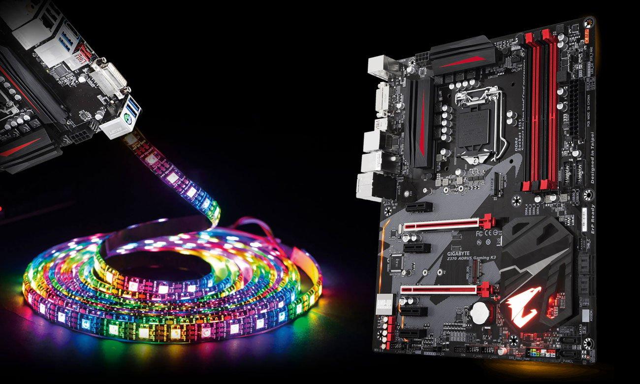 Gigabyte Z370 AORUS Gaming K3 RGB Fusion