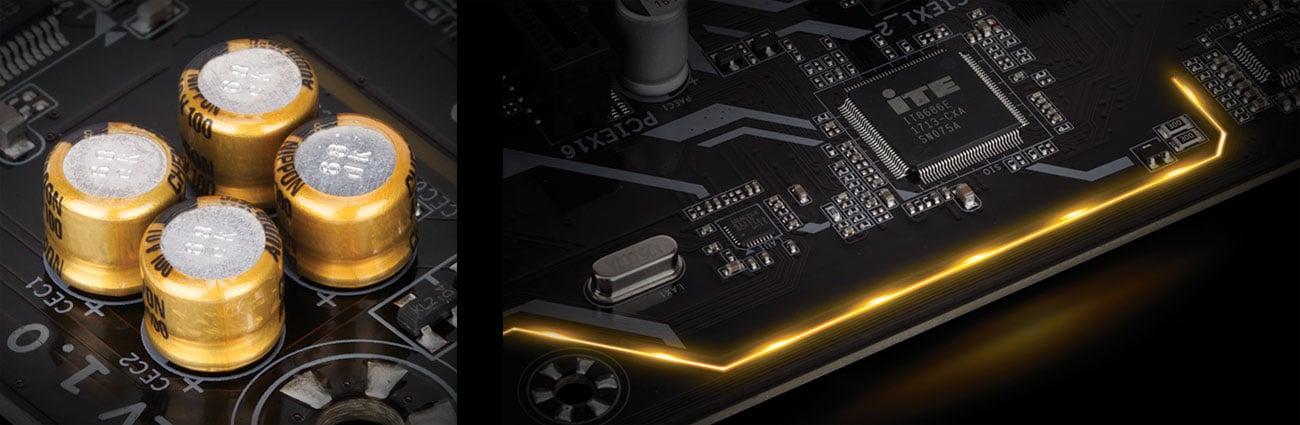Gigabyte Z370P D3 Dźwięk Realtek ALC887