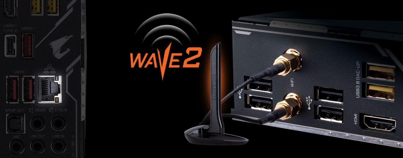 Gigabyte Z390 AORUS ULTRA Łączność LAN oraz WiFi 802.11ac