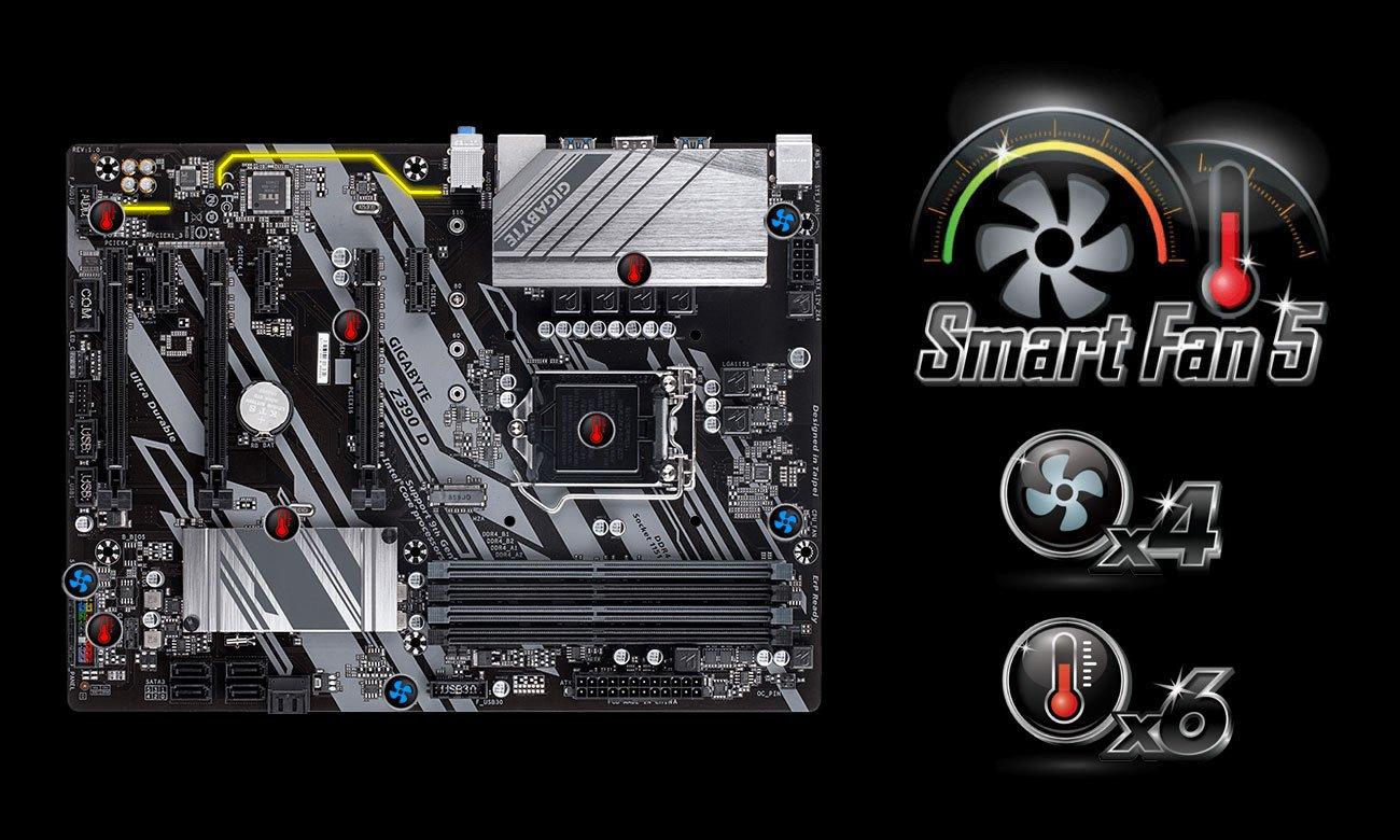 Gigabyte Z390 D - Smart Fan 5