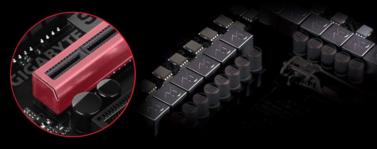 Gigabyte Z390 GAMING X Stabilność i wytrzymałość