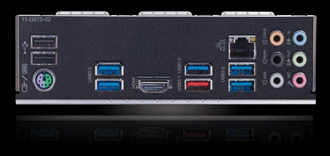 Gigabyte Z390 GAMING X Sieć Intel LAN