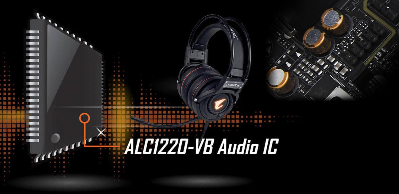 Gigabyte Z390 I AORUS PRO WIFI Układ audio
