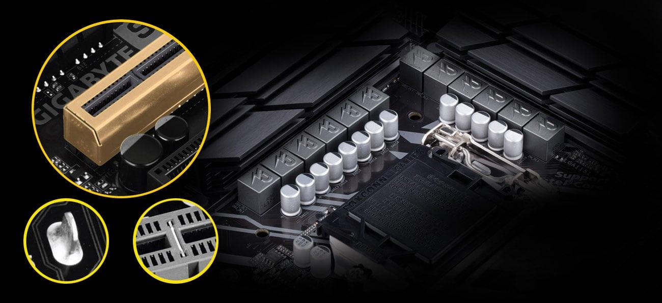 Gigabyte Z390 UD Wytrzymałość Ultra Durable