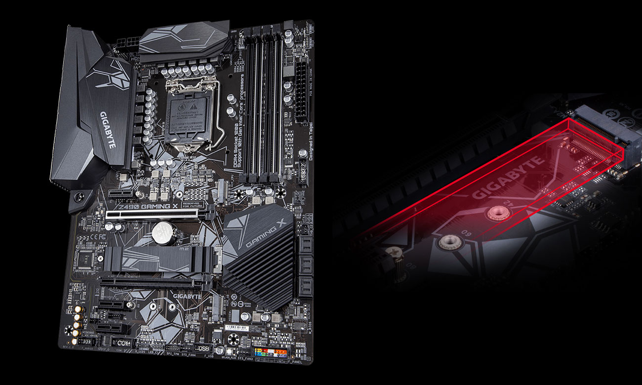 Gigabyte Z490 GAMING X - Łączność