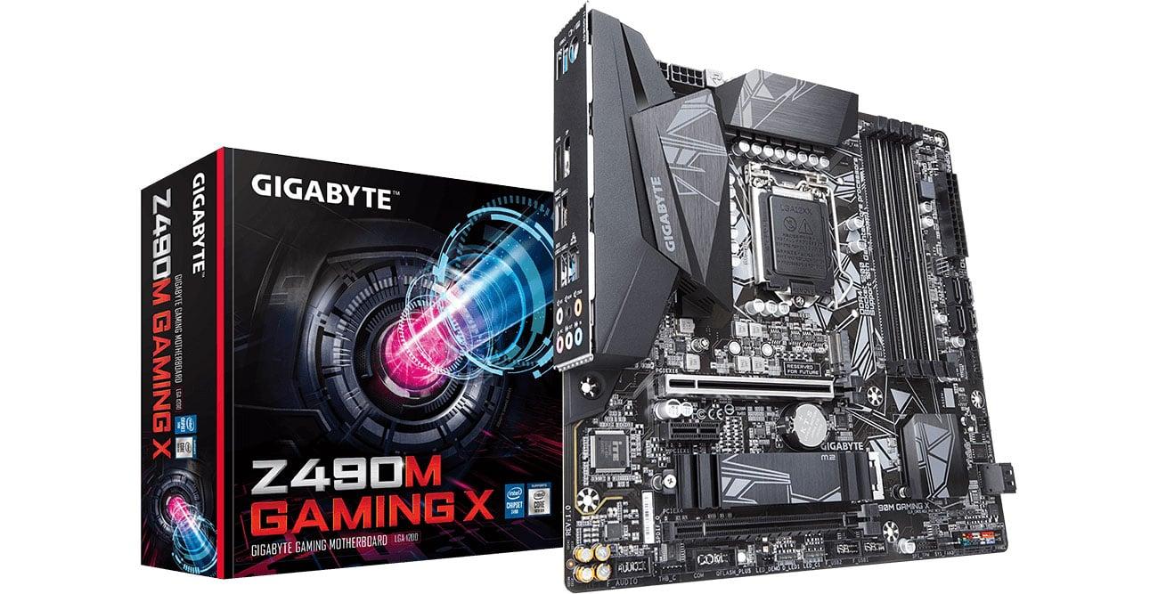 Gigabyte Z490M GAMING X - Płyta główna